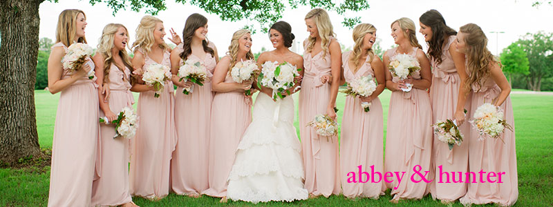 abbey and hunters wedding photo gallery