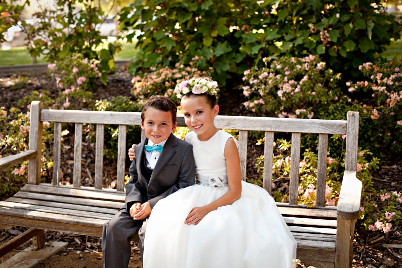 flower-girl & ring-bearer