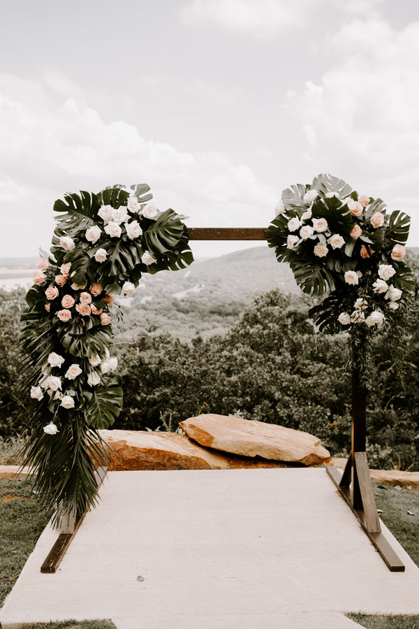 Wedding Ceremony Floral
