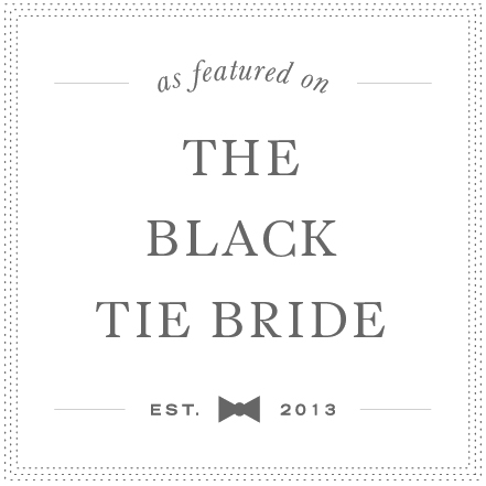 The Black Tie Bride Logo