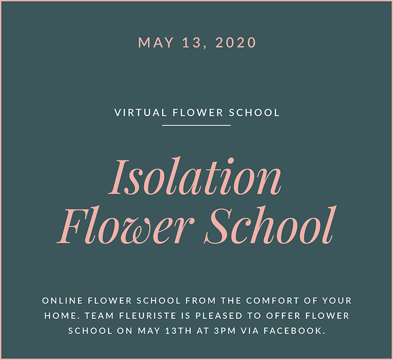 Virtual Flower School The Fleuriste